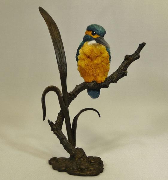 Kingfisher on Reeds Bowbrook Studios