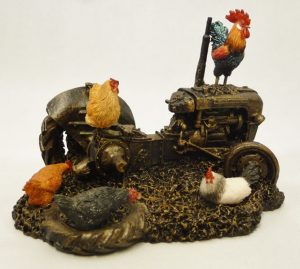 Farmyard Chickens by Bowbrook Studios