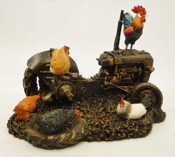 Farmyard Chickens by Bowbrook Studios