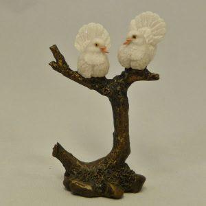 Mini Pair of Doves Bowbrook Studios