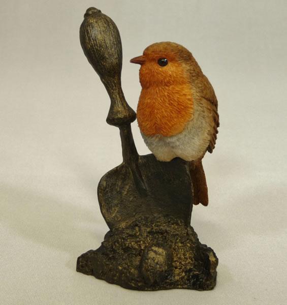 Robin on Trowel Bowbrook Studios