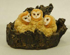 Barn Owlets Small by Bowbrook Studios