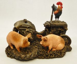 Farmyard Pigs by Bowbrook Studios