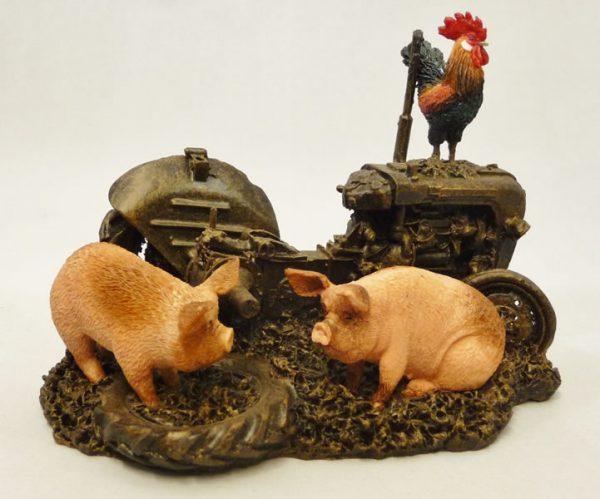 Farmyard Pigs by Bowbrook Studios