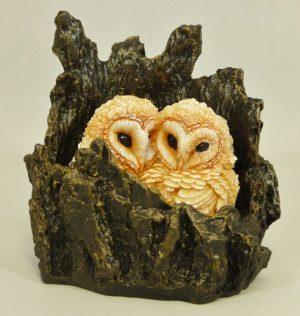 Barn Owlets Large by Bowbrook Studios