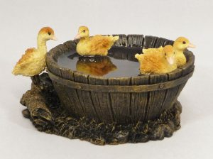 Ducklings in Barrel by Bowbrook Studios