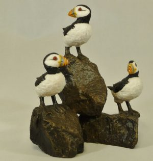 Group of Puffins by Bowbrook Studios