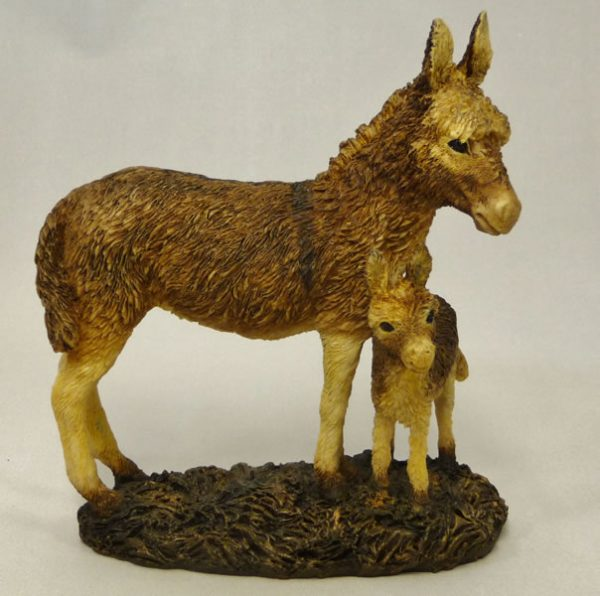 Donkey and Foal by Bowbrook Studios