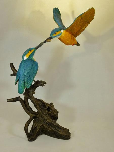 Pair of Kingfishers Bowbrook Studios