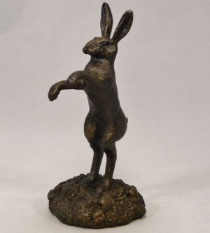 Small Boxing Hare by Bowbrook Studios