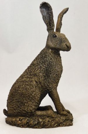 Sitting Hare (Rough Coat) by Bowbrook Studios