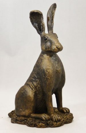 Sitting Hare (Smooth Coat) by Bowbrook Studios