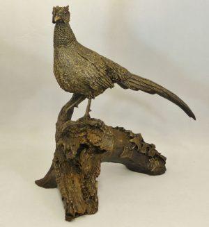 Large Pheasant Bronze Bowbrook_Studios