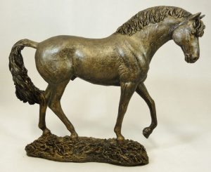 Small Standing Horse by Bowbrook Studios