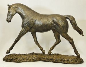 Trotting Horse by Bowbrook Studios