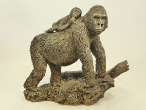 Piggy Back Gorilla by Bowbrook Studios