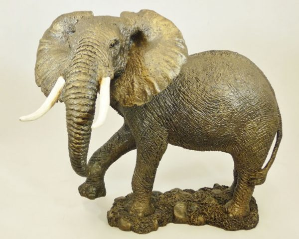 Male (Bull) African Elephant by Bowbrook Studios