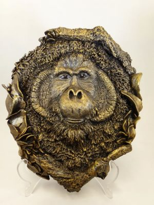 Orangutan Wall Plaque by Bowbrook Studios